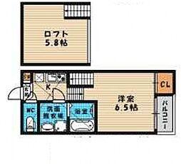 (仮称)旭区高殿六丁目B・SKHコーポ[103号室号室]の間取り