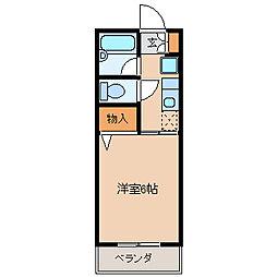 メゾン・ファミールII[2階]の間取り