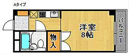 アビヨンKAB1[4階]の間取り