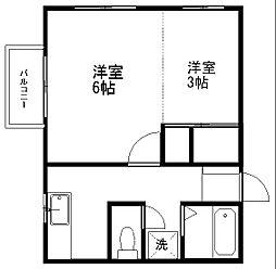 ROGUE UIII[201号室]の間取り