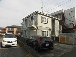 神奈川県川崎市中原区宮内1丁目の賃貸アパートの外観