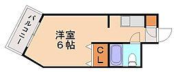 メゾン・ド・オセアン[1階]の間取り