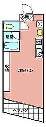 メゾン・ド・エール[303号室]の間取り