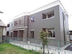 愛知県豊田市野見山町1丁目の賃貸アパートの外観