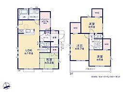 一戸建て(志木駅からバス利用、111.37m²、3,580万円)
