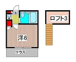 Cielo I[2階]の間取り