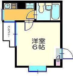 ミキハウス三ツ沢[302号室]の間取り