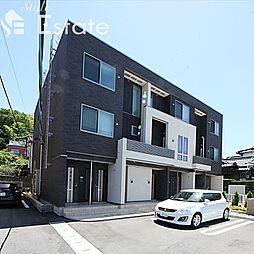 愛知県名古屋市緑区鳴海町字前之輪の賃貸アパートの外観