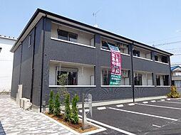 埼玉県さいたま市岩槻区府内1丁目の賃貸アパートの外観
