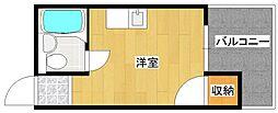 プレアール住之江公園4[5階]の間取り