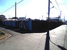 現地写真(平成29年12月撮影)閑静な住宅街・角地・敷地面積35坪以上・平坦・更地