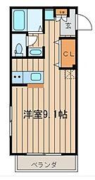 マ・メゾン風雅[2階]の間取り