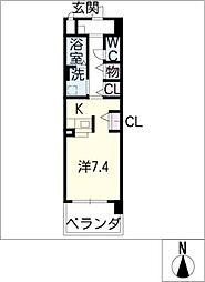 レユシールエム[3階]の間取り