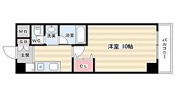 メディナ丹波口[3階]の間取り