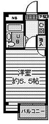 ハーモニーハイツ石井[3階]の間取り