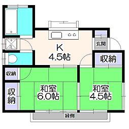 [一戸建] 東京都東久留米市神宝町1丁目 の賃貸【/】の間取り