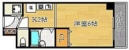 FLAT S・M・P[3階]の間取り
