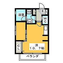 Mina八事石坂[3階]の間取り