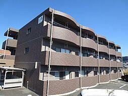 鹿児島県霧島市国分府中の賃貸マンションの外観