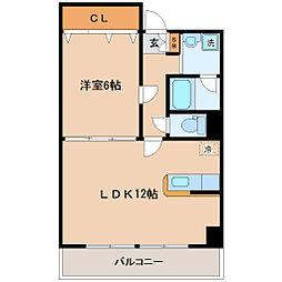 サークル10ビル[7階]の間取り