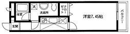 JUN湘南[2階]の間取り