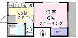 ハイムベル[1階]の間取り