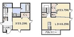 enishi昭和町[1号室]の間取り