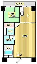 新船場太平ビル[3階]の間取り