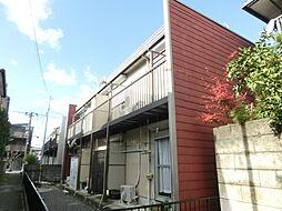 大阪府茨木市上中条1丁目の賃貸アパートの外観