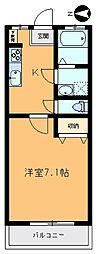 第一高千穂マンション[202号室]の間取り