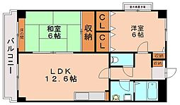 グレースコート11[1階]の間取り