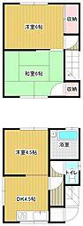 [一戸建] 宮崎県宮崎市清武町加納甲 の賃貸【/】の間取り