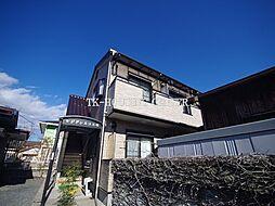 栃木県宇都宮市峰町の賃貸アパートの外観