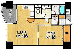 サンシティ博多フレックス21[3階]の間取り