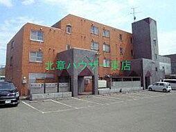 北海道札幌市東区東苗穂三条2丁目の賃貸マンションの外観