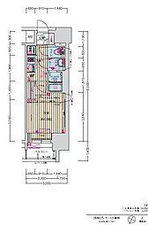 JR中央本線 大曽根駅 徒歩7分の賃貸マンション 7階1Kの間取り