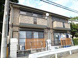 東京都あきる野市留原の賃貸アパートの外観
