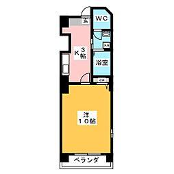 CRANEHEART26[2階]の間取り