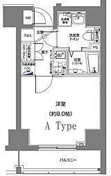 ディアレイシャスID横浜南[9階]の間取り