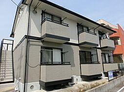 愛知県北名古屋市徳重広畑の賃貸アパートの外観