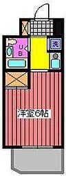 Jフラッツ川口本町[7階]の間取り