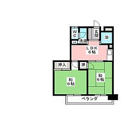 近藤ビル[5階]の間取り