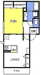 (仮称)浦和上木崎4丁目D-room[302号室号室]の間取り