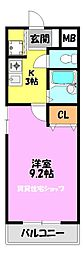 JTBマンション[3階]の間取り