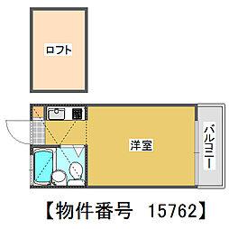 埼玉県川越市大字今泉の賃貸アパートの間取り