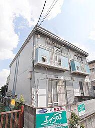 第2三栄コーポ[1階]の外観
