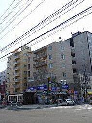 北海道札幌市北区北十七条西4丁目の賃貸マンションの外観