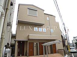 東京都昭島市玉川町3丁目の賃貸アパートの外観