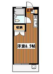 東京都目黒区祐天寺2丁目の賃貸マンションの間取り