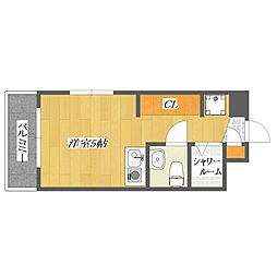 Flora5[527号室]の間取り